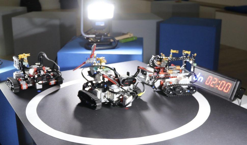 Robot Rumble Remote Teamevent